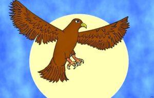 """El águila y la raposa """"zorra"""""""
