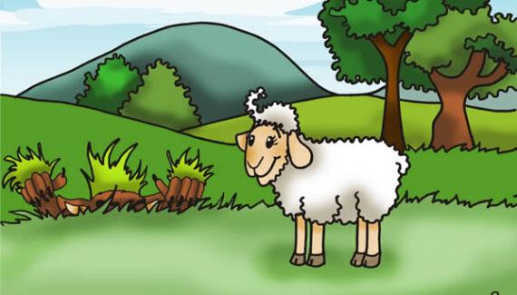 Fabula: El ciervo, la oveja y el lobo