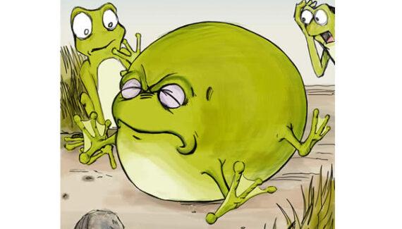 La rana y el buey - Fábulas de Esopo