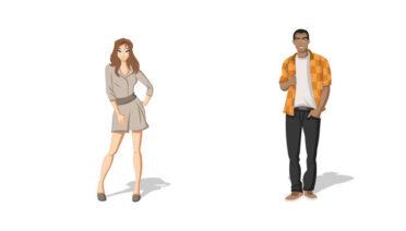 El joven y la mala mujer - Fábulas de Esopo
