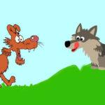 El perro y el lobo - Fábulas de Esopo