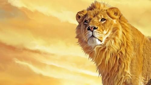 El león rey - fábulas de esopo