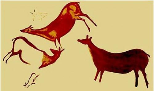 El caballo el ciervo y el cazador