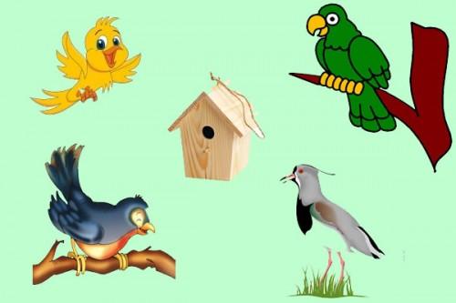 El pajarero y las aves - fábulas de Esopo