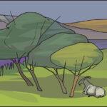 El lobo y el chivo - fábulas de Esopo con moraleja