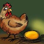 La mujer y la gallina - Fábulas de Esopo