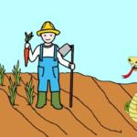 El labrador y la culebra - Fábulas de Esopo